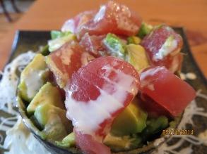 Maguro w/Avocado