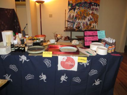 My sushi station