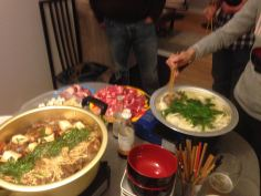 Sukiyaki and Shabu Shabu for Christmas