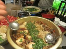 Sukiyaki looking delicious!