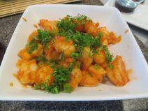 Ebi Chili (spicy shrimp w/ chili sauce)