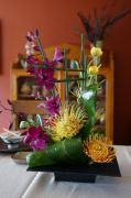 "beautiful flower arrangement ""Ikebana"""