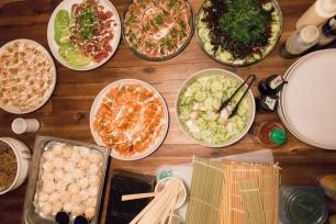 Assortment of Sashimi Appetizer